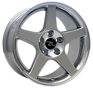 17 Chrome 03 Svt Cobra Terminator Style Mustang Wheels Rims 17x9 5x114 3 94 04