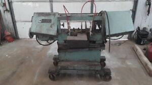 W f Wells Model L 9 3 4hp Horizontal Band Saw 9 X 16 208 230 460v 3ph