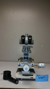 Olympus Bh 2 Microscope With Objectives
