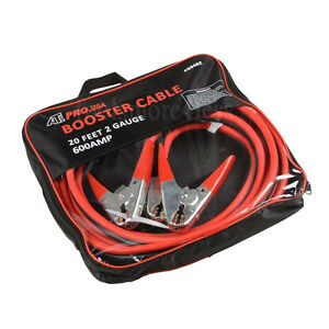 Booster Cable 20 Feet 2 Gauge Jumper Cable Stater