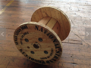 Wooden Spool Cable Wire Reel