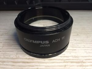 Olympus Stereo Microscope Ach 1x For Szx Series