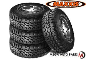 4 New Maxxis Bighorn Mt 762 31x10 50r15lt 109q C 6 All Terrain Mud Tires