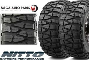 2 Nitto Mud Grappler X Terra 37x13 50r20 127q E 10 Extreme Mud Terrain Tires