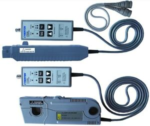 High Frequency Dc ac Oscilloscope Current Probe 6mhz 300arms Peak 500a 10x 100x