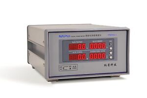 Bench Trms Ac Voltage Current Power Meter Harmonic Analyzer Tester Rs232 Pm9811