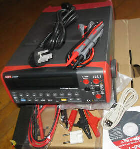 High accuracy 0 015 Digital True Rms Bench Type Multimeter Dmm Usb Rs232 Ut805a