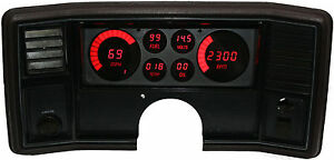 1978 1988 Monte Carlo Digital Dash Panel Red Led Gauges Lifetime Warranty