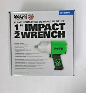 New Matco Tools 1 2 Composite Impact Wrench Green Mt2769g