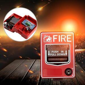 Fire Alarm Pull Station Addressable Single Action New Sale