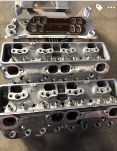 Pro 14 Degree Small Block Chevy Cylinder Heads And Intake Dart Brodix