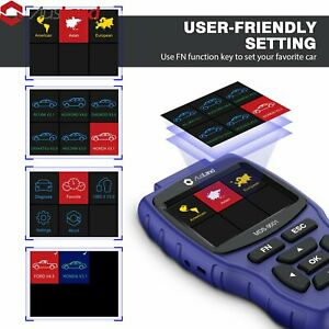 Mds 9001 For Benz Series Auto Car Obd2 Scanner Meg Esp Control Unit Scan Tool