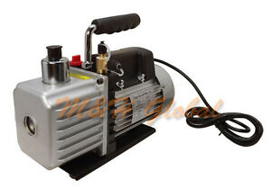 2 Stage Electric Refrigerant 2 5cfm Vacuum Pump Hvac 1 3hp Pumping System