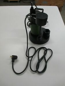 Drummond 1 2 Hp Submersible Sump Pump With Vertical Float 3800 Gph Model 63322