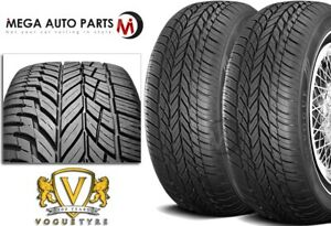 2 Vogue Tyres Classic White Grand Touring 225 60r16 102t Xl 1 4 Wall Tires