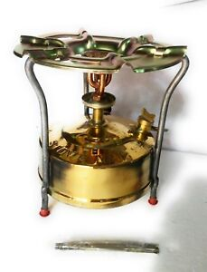 Brass Camping Cooking Kerosene Stove In Outdoor
