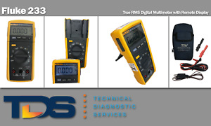 used Fluke 233 True Rms Digital Multimeter Remote Display Nist Calibration