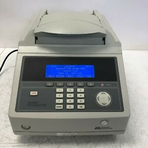 Applied Biosystems Abi Geneamp Pcr System 9700 With Dual 384 Well Tested Working