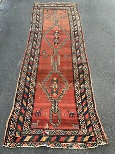 Antique Northwest Persian Kurd Tribal Rug 3 6 X 9 6