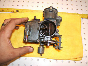 Vw Old Beetle 1970s Solex 1 Barrel Oem 1 Carburetor Solex 34 Pict 3 Mexico