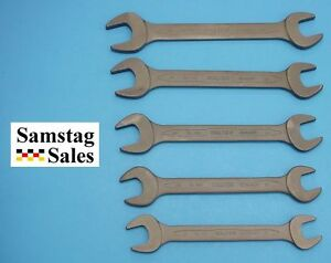 Carl Walter Germany 100ph Set Thin Metric Double Open End Wrench Set 20 30mm
