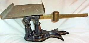 Vintage Antique Cast Iron Fairbanks Scale Property Of The U S P O Dept With