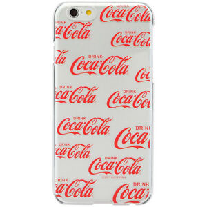 Coca-Cola iPhone6 Hard Case LOGOPATTERN RED