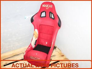 Jdm Sparco Rev Red Bucket Seat Drive Seat Only Jdm Sparco Bucket Seat