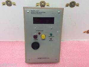 Ludlum Measurements Model 307 Radiation Monitor Remote Readout
