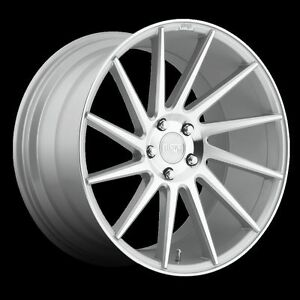 22 Inch Niche Surge Wheels Tires Silver Audi A8 S8 S7 Bentley 22x9 0 22x10 5