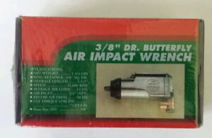 3 8 Dr Butterfly Air Impact Wrench New