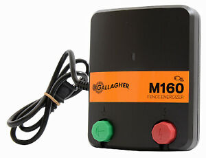 Gallagher North America Electric Fence Charger M160 1 6 Stored Joules 110 vol