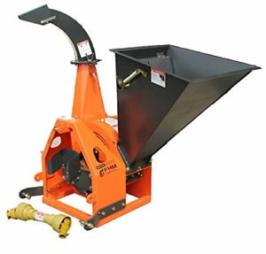 6 Gravity Feed Drum Wood Chipper 3pt