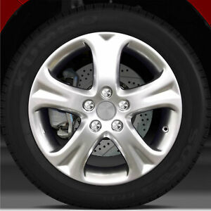 17x7 Factory Wheel hyper Bright Smoked Silver For 2008 2009 Toyota Camry