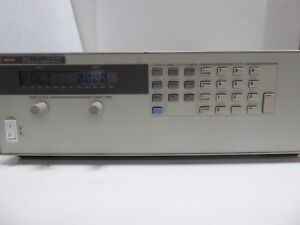 Agilent 6651a System Dc Power Supply 0 8v 0 50 Amps Adjustable Nice
