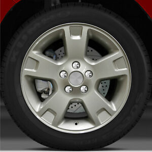 17x7 5 Factory Wheel Ford Satin Nickle For 2002 2005 Ford Explorer
