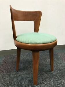 Mid Century Modern Edward Wormley Drexel Precedent Swivel Chair 220 3