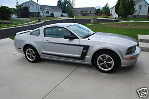05 09 Ford Mustang V6 Gt C Stripe With Pin Stripes Decals Graphics Vinyl Sticker