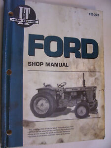 Vintage Ford It Shop Manual fordsons 8000 Tw 30 100 1600 Tractors