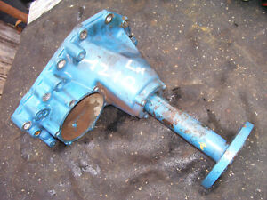 Vintage Ford 1210 3 Cyl Diesel Tractor axle Rear Housing Lh Side