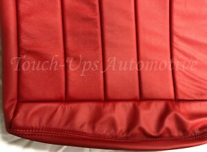 2009 2010 Dodge Challenger Se Rt Custom Design Katzkin Leather Seat Covers Red