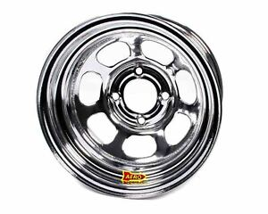 Aero Race Wheels 30 series 13x8 In 4x4 25 Chrome Wheel P n 30 284220