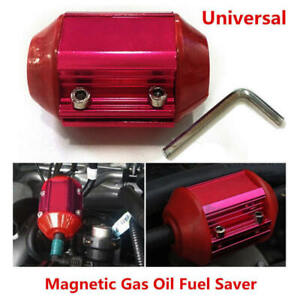 Universal Magnetic Gas Oil Fuel Saver Performance Trucks Car Economizer Aluminum