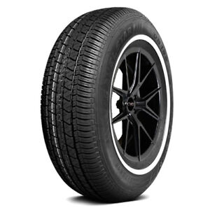 2 p215 70r15 Travelstar Un106 99t White Wall Tires