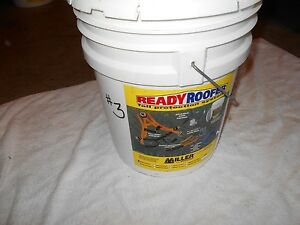 Miller Ready Roofer Fall Protection System brfk25 25ft Used 3