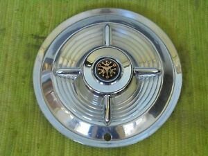 1956 Monarch Spinner Hub Cap 15 Wheel Cover Ford Mercury Canadian Hubcap 56