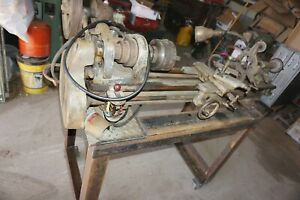 South Bend Lathe 9 Workshop Lathe With 4 Ft Bed Catalog No 615 a