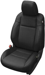 2016 2020 Toyota Tacoma Double Cab Alea Black Leather Seat Covers Kit Perforated