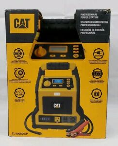 Cat Peak Amp Battery Jump Starter Power Station Compressor Cj1000dcp
