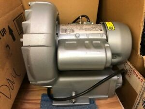 Gast R1102 Regenair Regenerative Blower 1 8hp 3450rpm 115 220 240v 2 0 1 1 1a